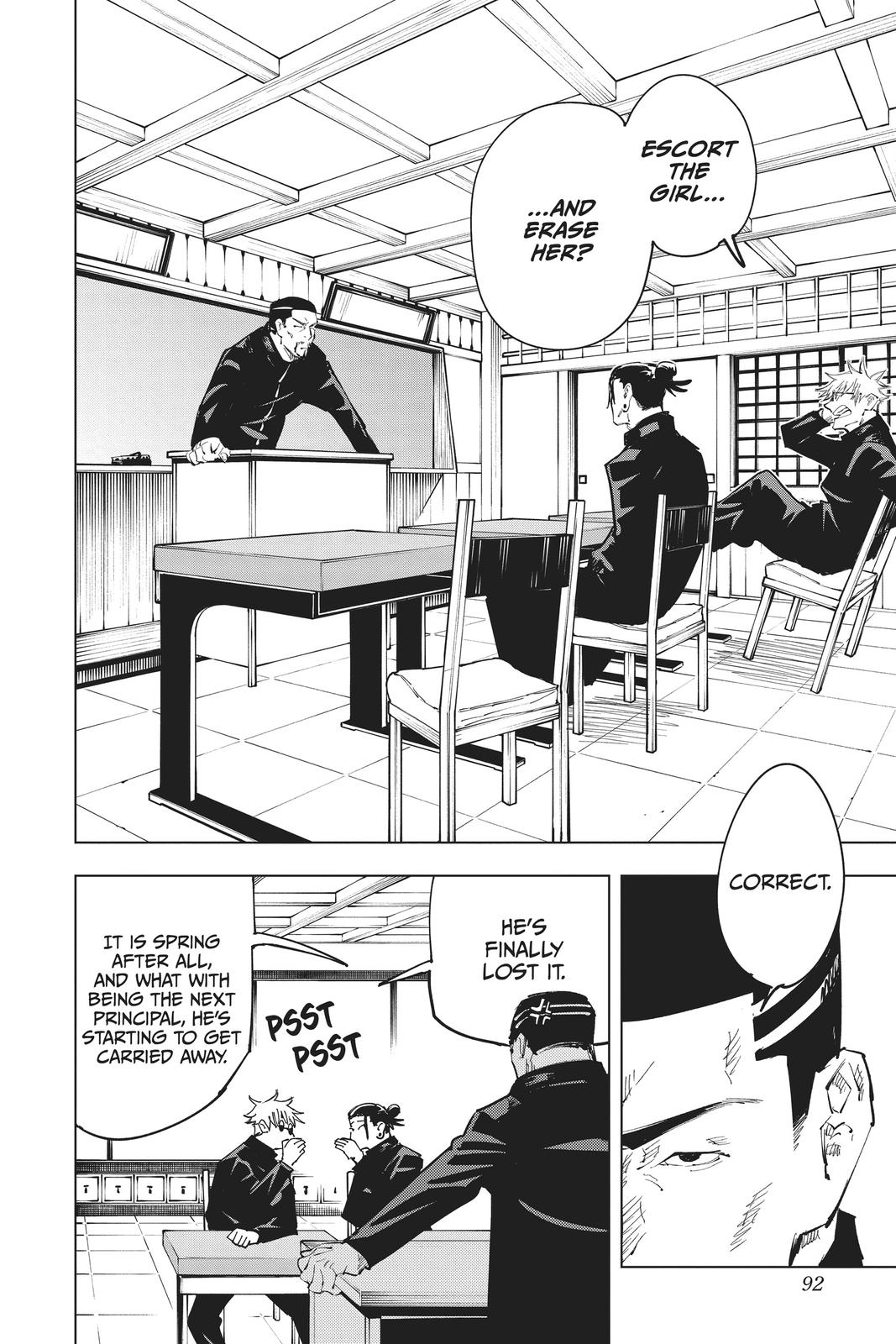 Jujutsu Kaisen, Chapter 66 image 002