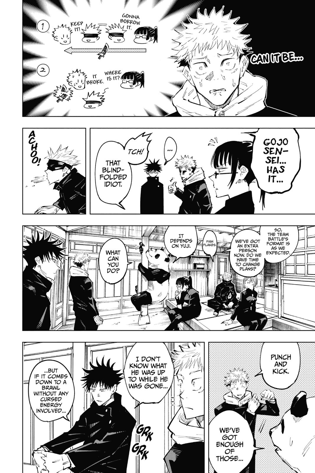 Jujutsu Kaisen, Chapter 33 image 005