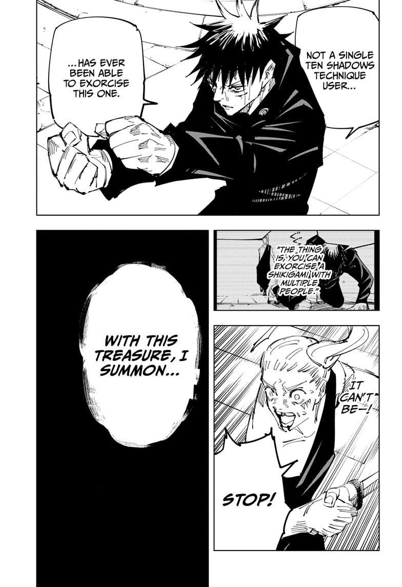 Jujutsu Kaisen, Chapter 117 image 009