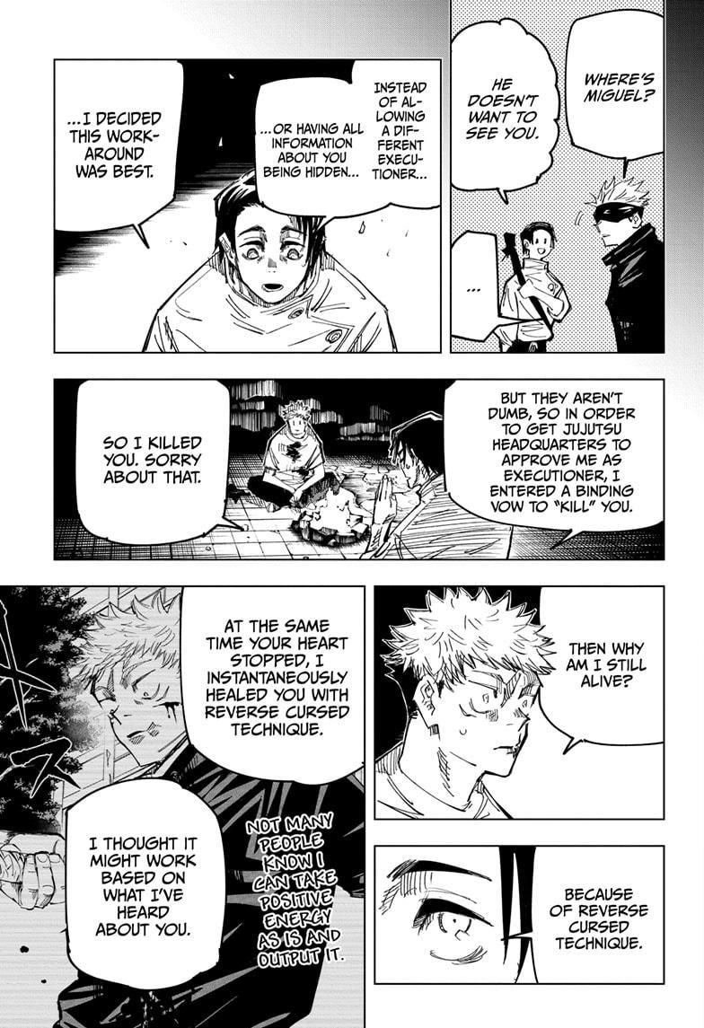 Jujutsu Kaisen, Chapter 143 image 009