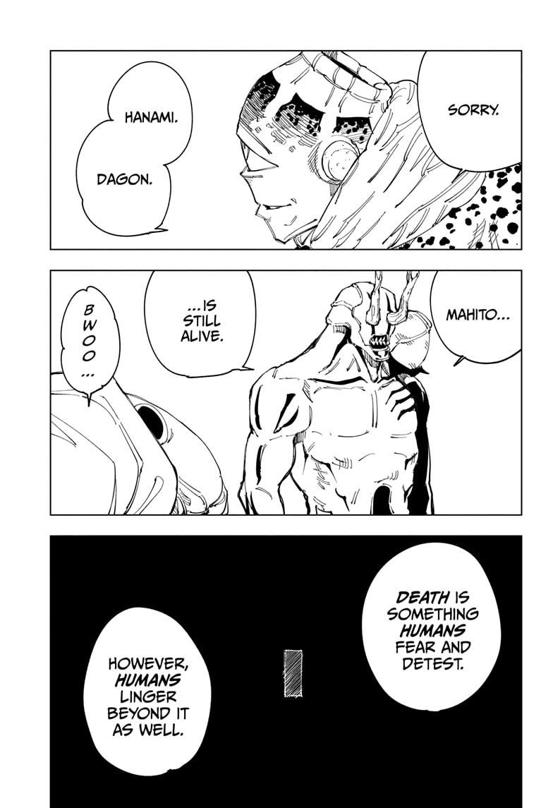 Jujutsu Kaisen, Chapter 116 image 007