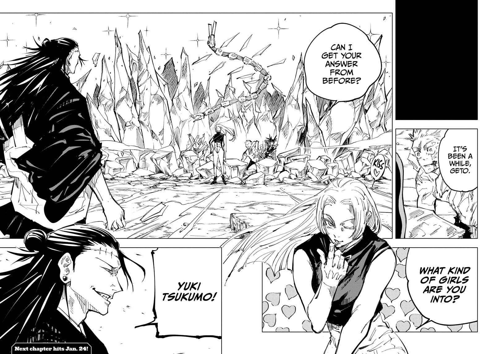 Jujutsu Kaisen, Chapter 135 image 017