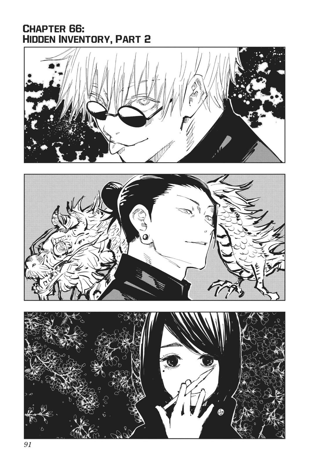 Jujutsu Kaisen, Chapter 66 image 001