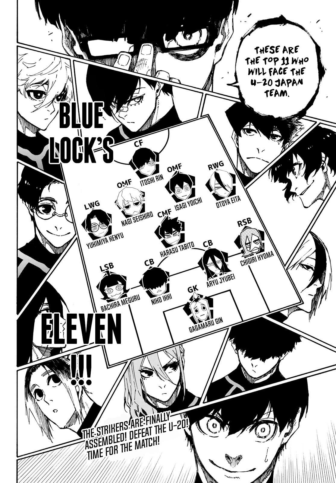 Blue Lock, Chapter 108 image 020