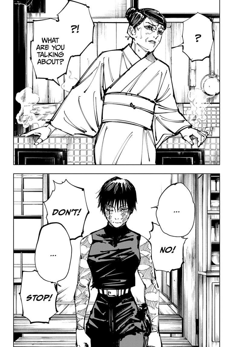 Jujutsu Kaisen, Chapter 152 image 002
