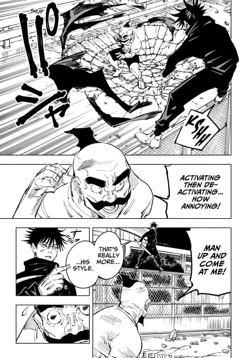 Jujutsu Kaisen, Chapter 97 image 007