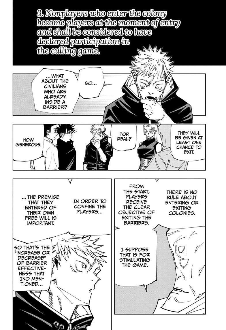 Jujutsu Kaisen, Chapter 146 image 006