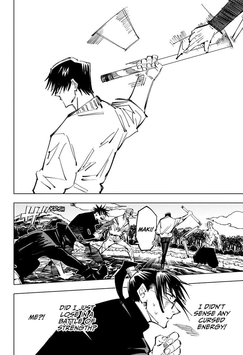 Jujutsu Kaisen, Chapter 110 image 004