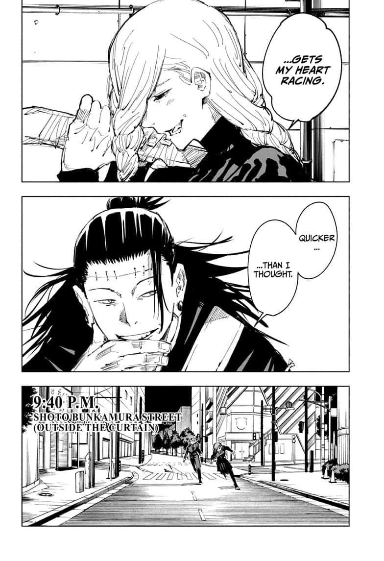 Jujutsu Kaisen, Chapter 98 image 018