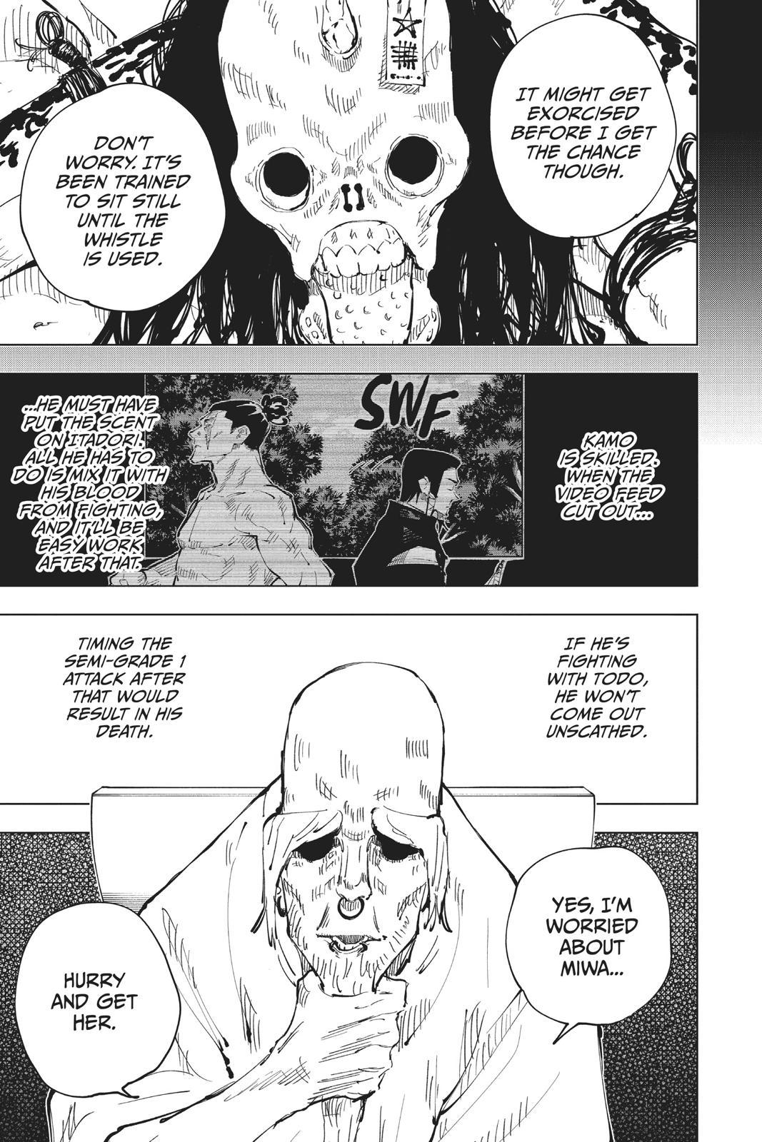 Jujutsu Kaisen, Chapter 43 image 015