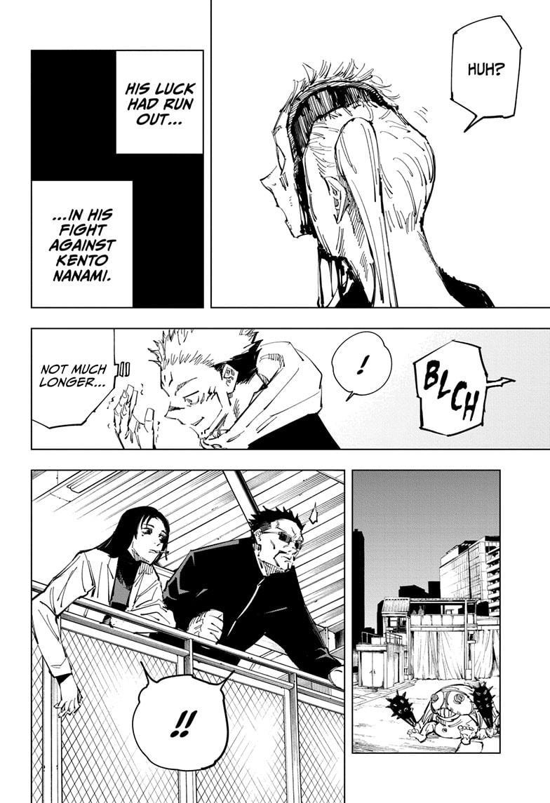 Jujutsu Kaisen, Chapter 119 image 014