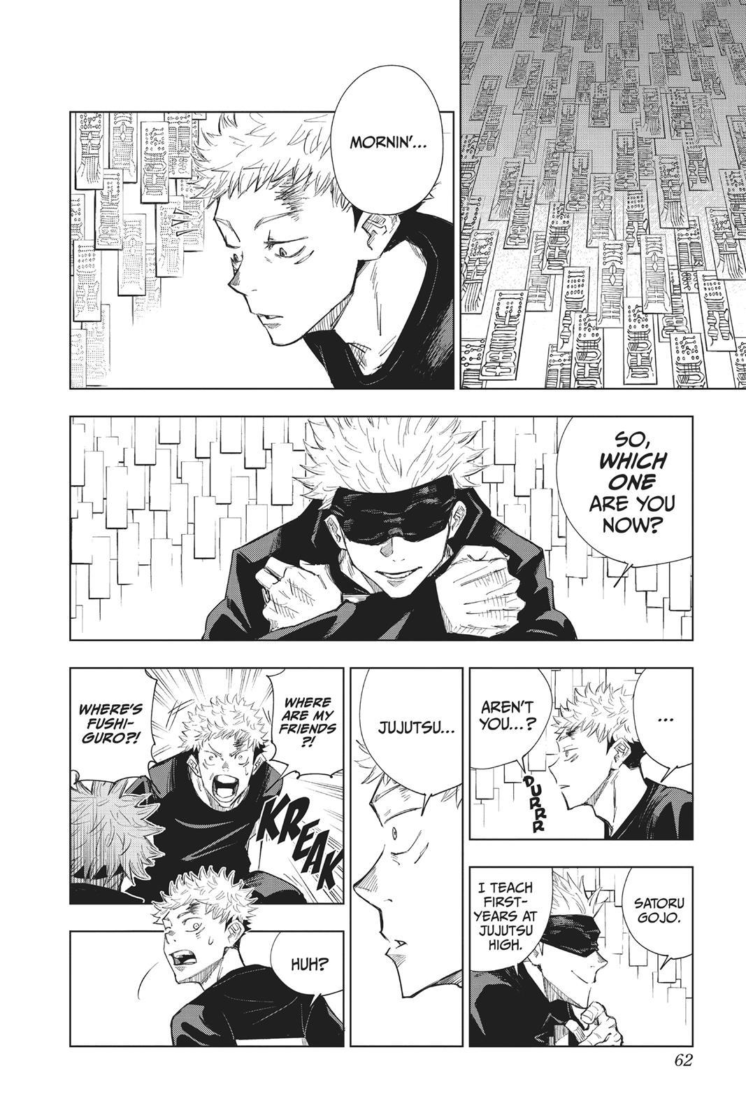 Jujutsu Kaisen, Chapter 2 image 002