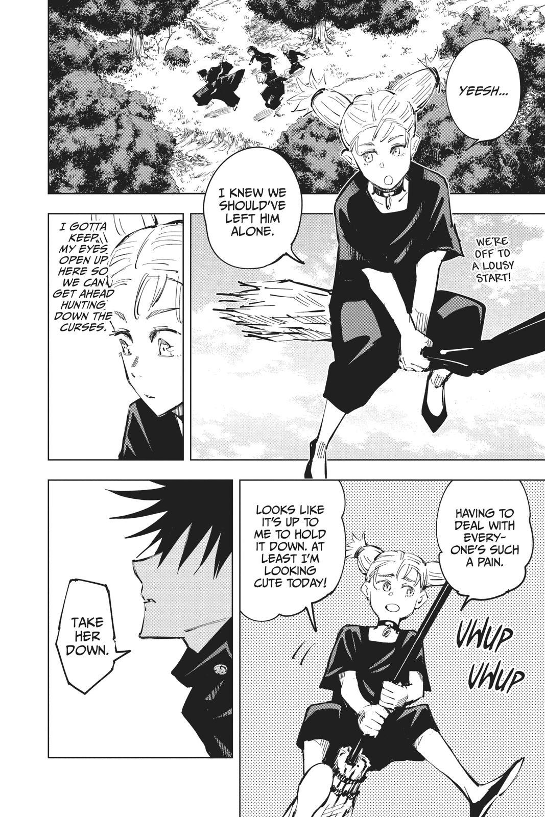 Jujutsu Kaisen, Chapter 35 image 021
