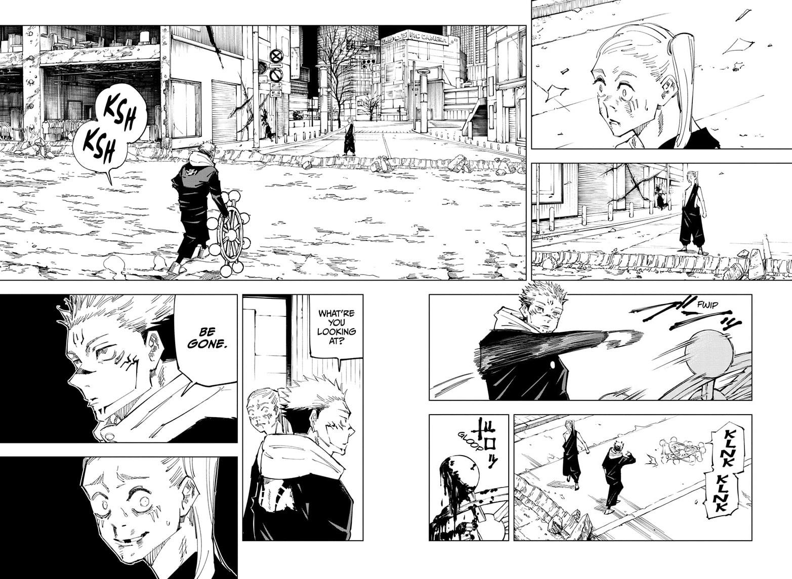 Jujutsu Kaisen, Chapter 119 image 011