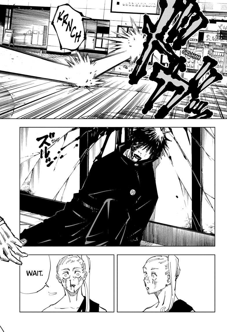 Jujutsu Kaisen, Chapter 117 image 013