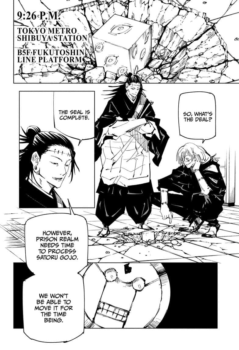 Jujutsu Kaisen, Chapter 92 image 006