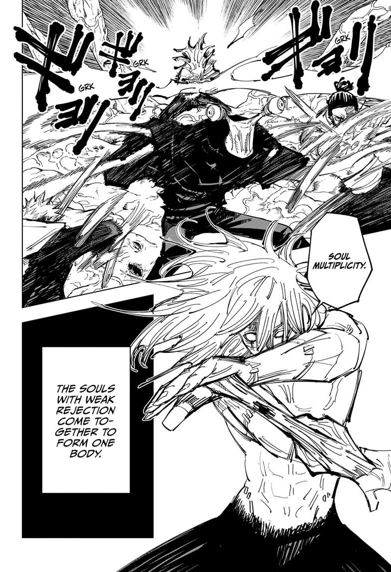 Jujutsu Kaisen, Chapter 129 image 004