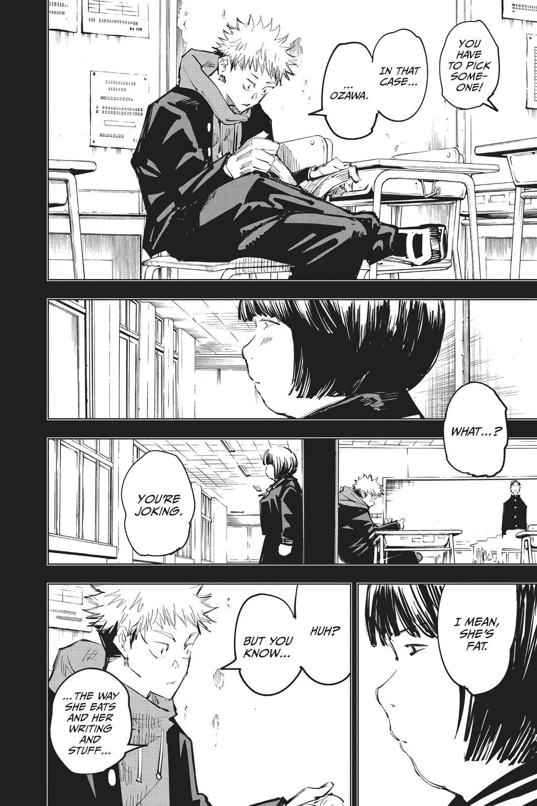 Jujutsu Kaisen, Chapter 64 image 016