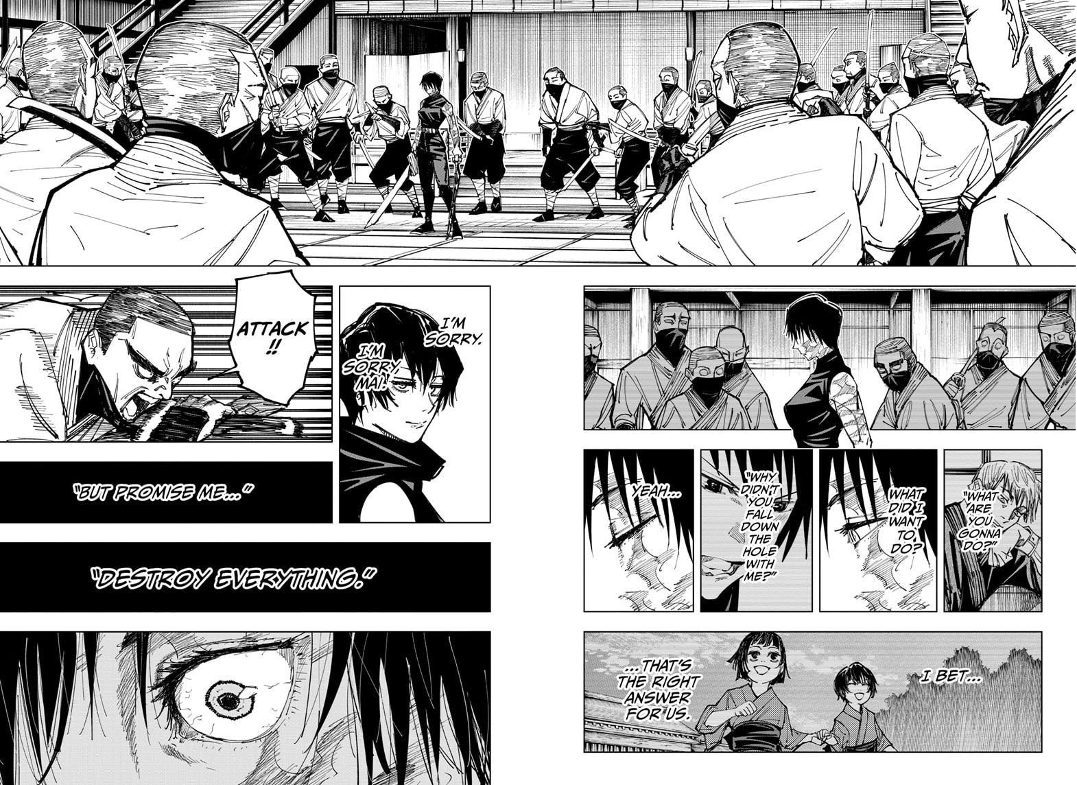 Jujutsu Kaisen, Chapter 150 image 007