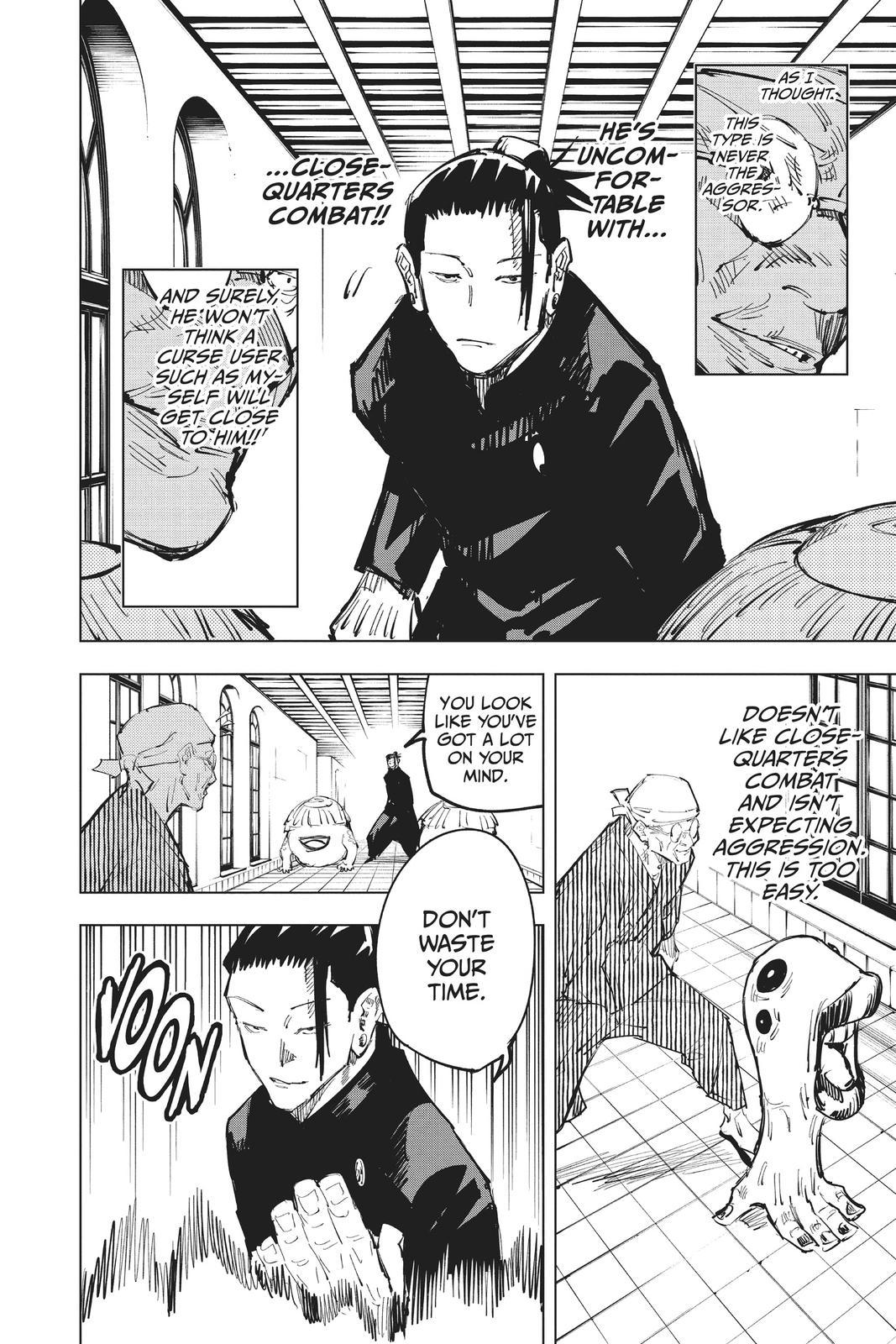 Jujutsu Kaisen, Chapter 68 image 008