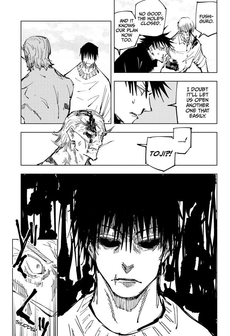 Jujutsu Kaisen, Chapter 110 image 005