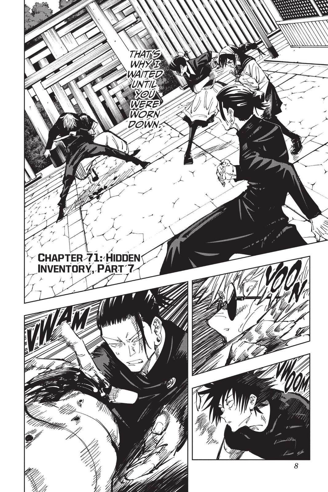Jujutsu Kaisen, Chapter 71 image 008