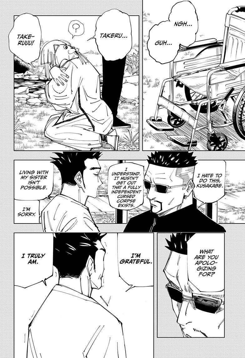Jujutsu Kaisen, Chapter 147 image 010