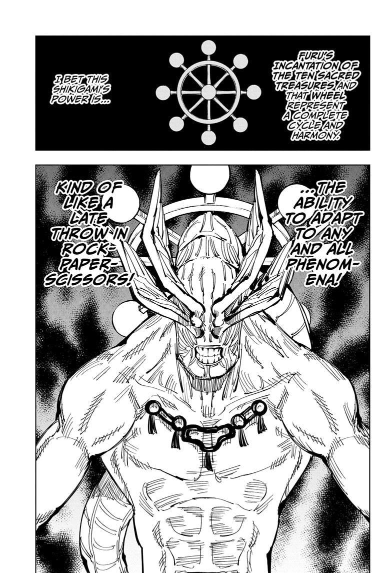 Jujutsu Kaisen, Chapter 118 image 016