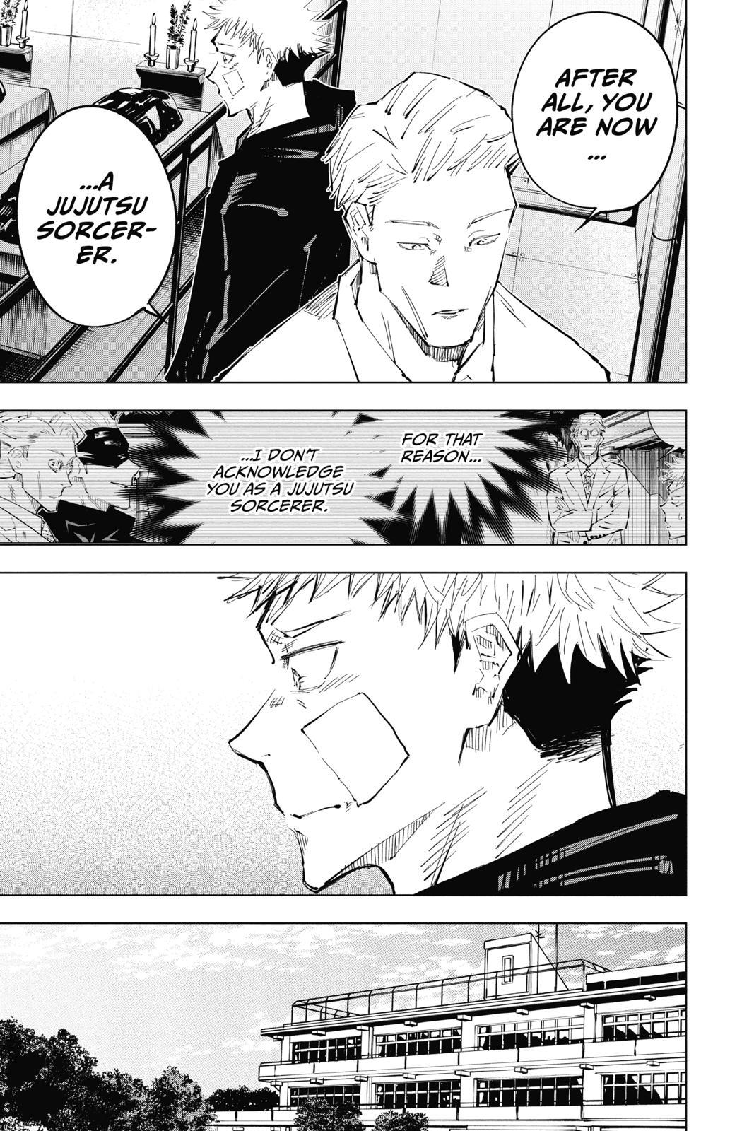 Jujutsu Kaisen, Chapter 31 image 016