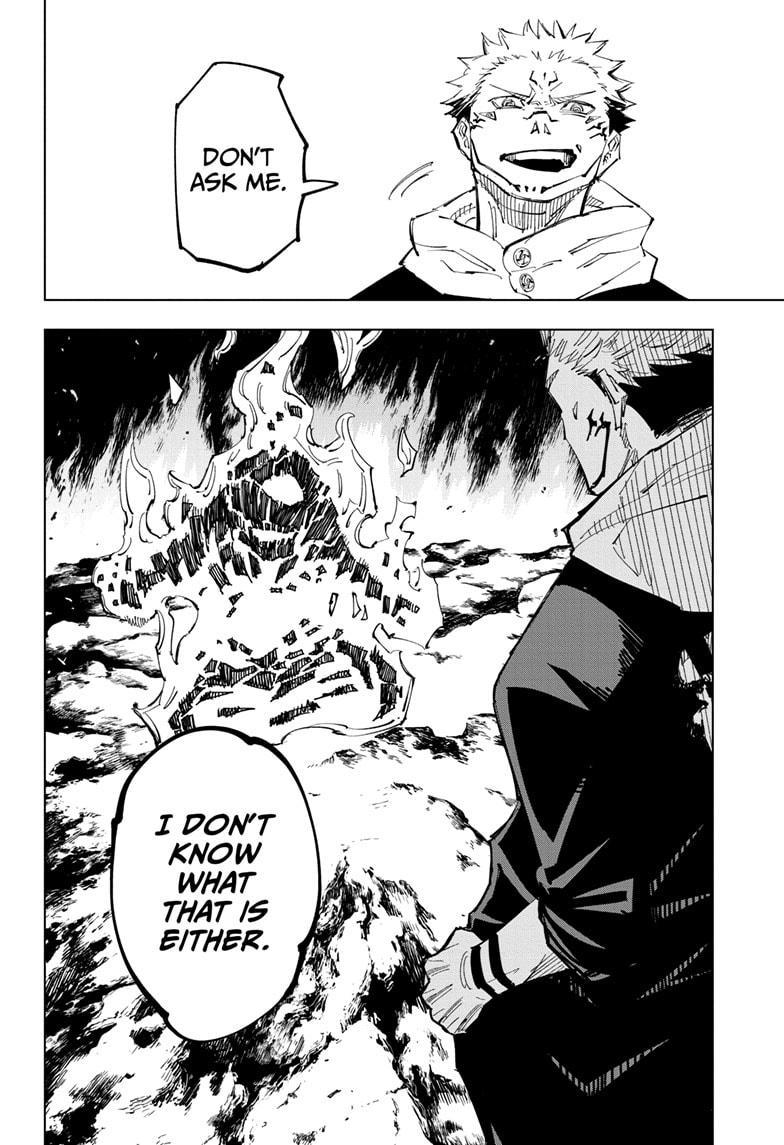 Jujutsu Kaisen, Chapter 116 image 014