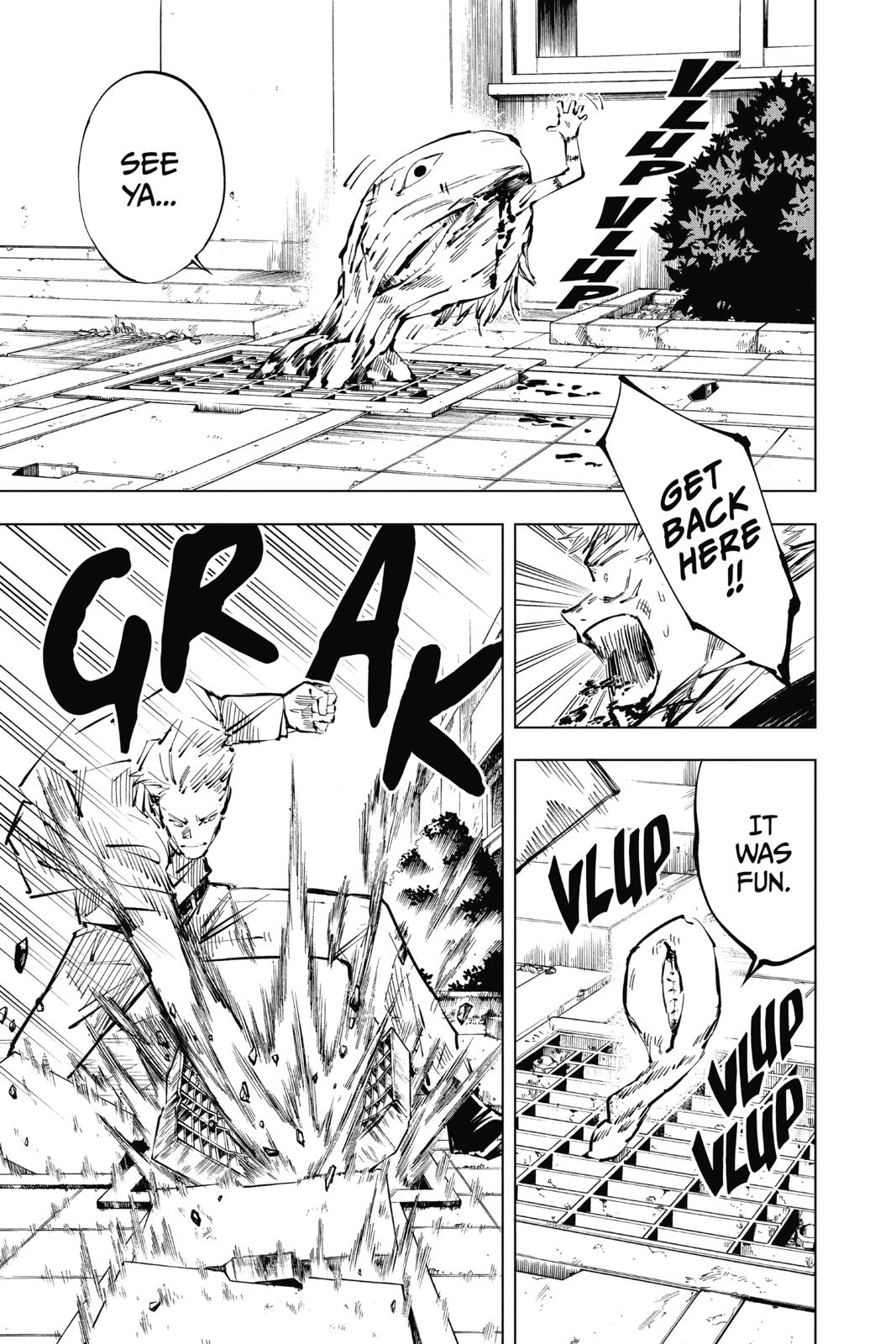 Jujutsu Kaisen, Chapter 31 image 008