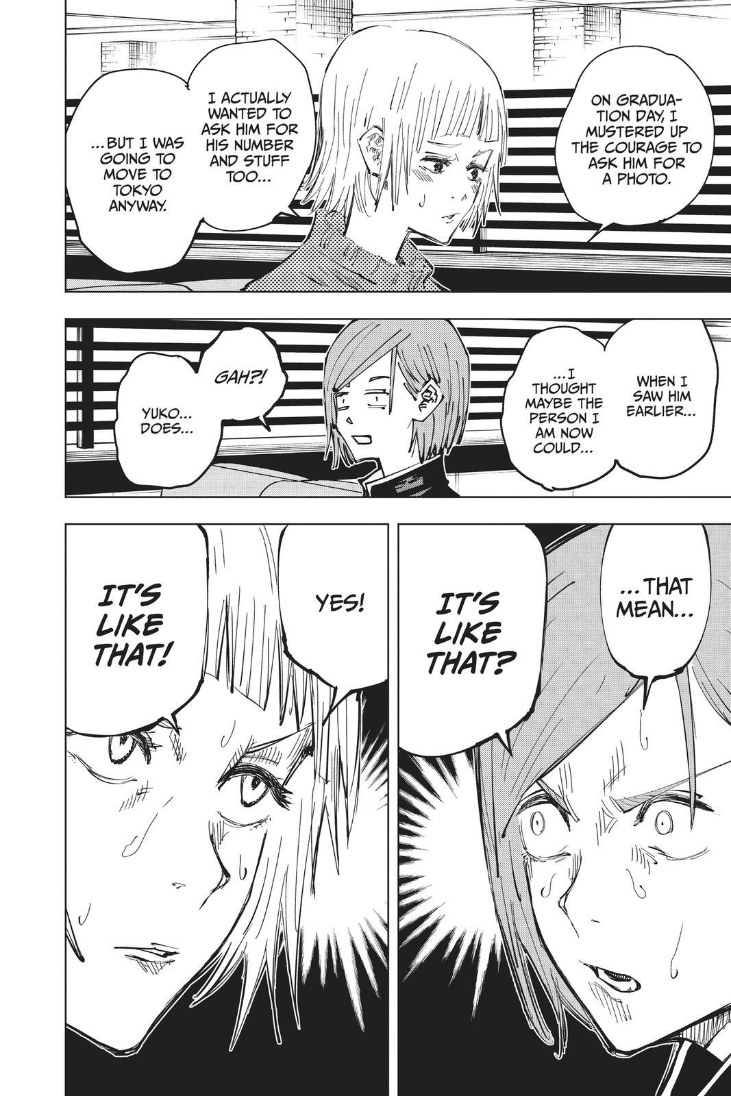 Jujutsu Kaisen, Chapter 64 image 008