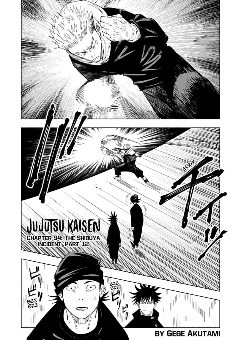 Jujutsu Kaisen, Chapter 94 image 001