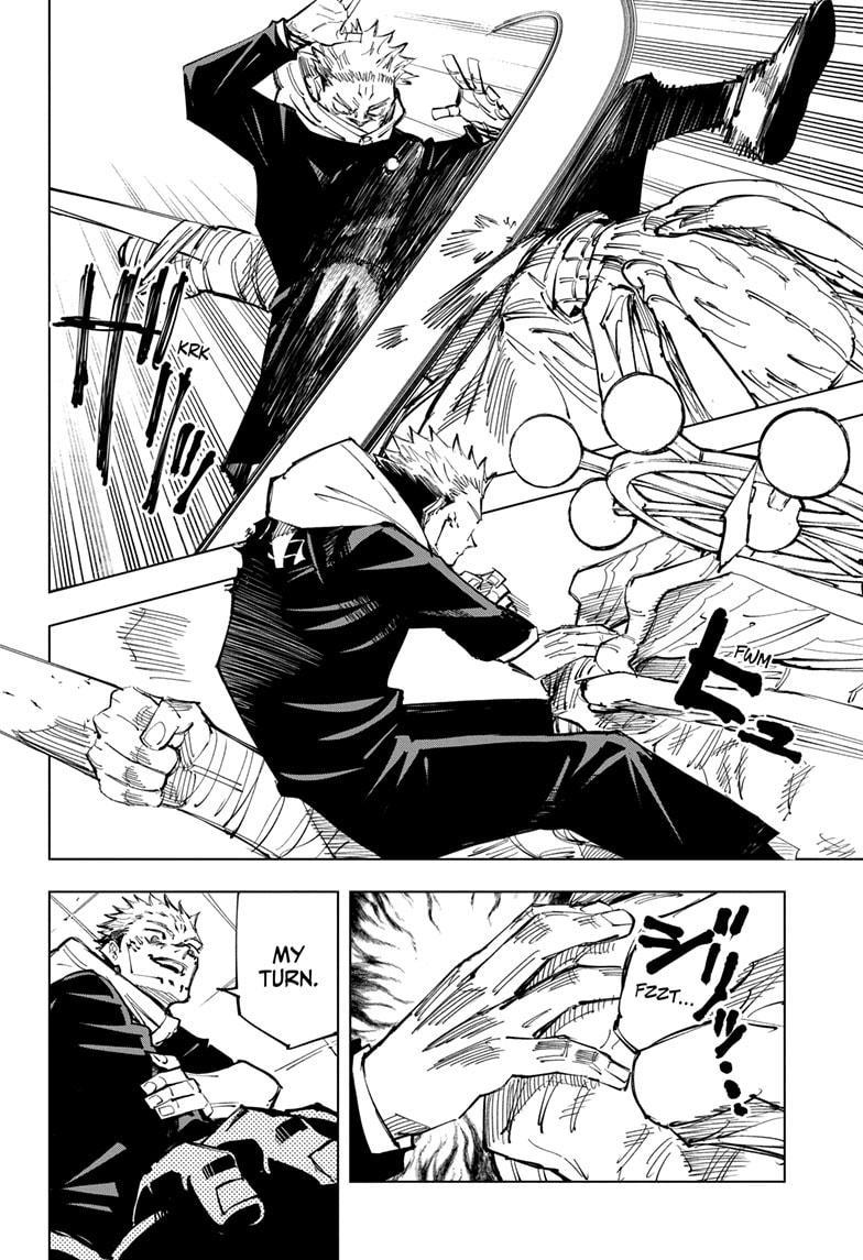 Jujutsu Kaisen, Chapter 118 image 011