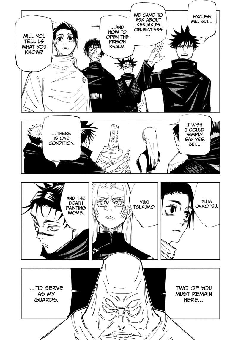 Jujutsu Kaisen, Chapter 145 image 003