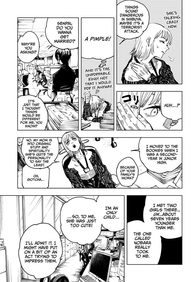 Jujutsu Kaisen, Chapter 125 image 013