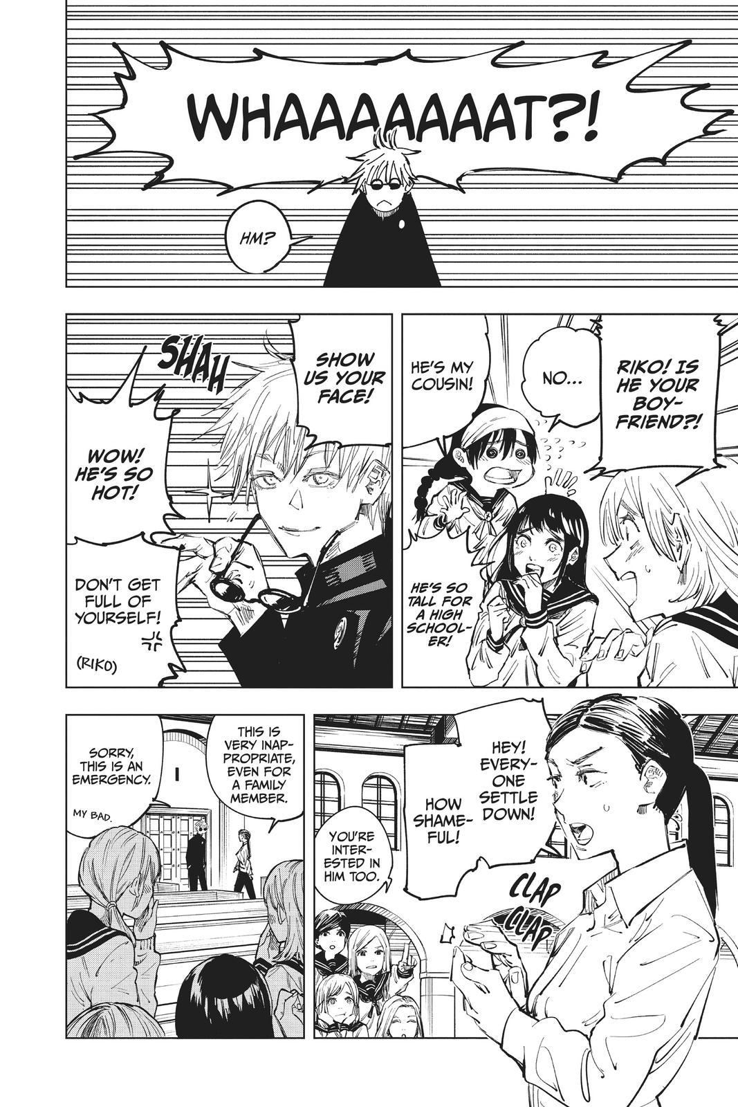 Jujutsu Kaisen, Chapter 69 image 002
