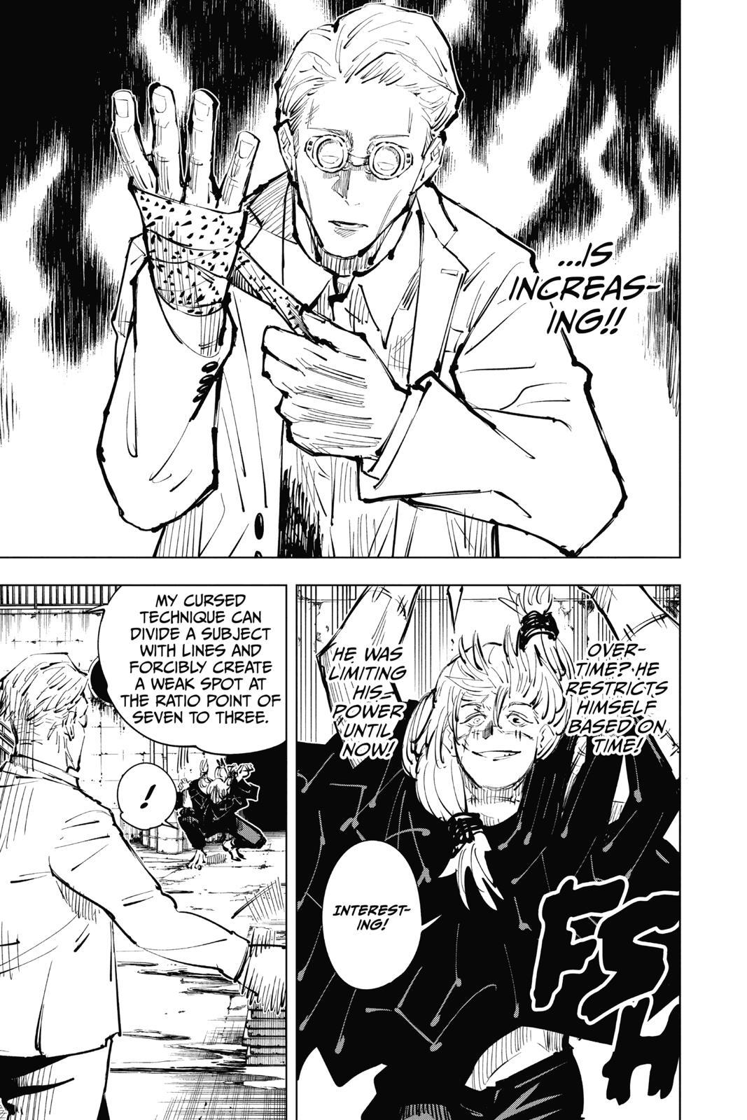 Jujutsu Kaisen, Chapter 23 image 011