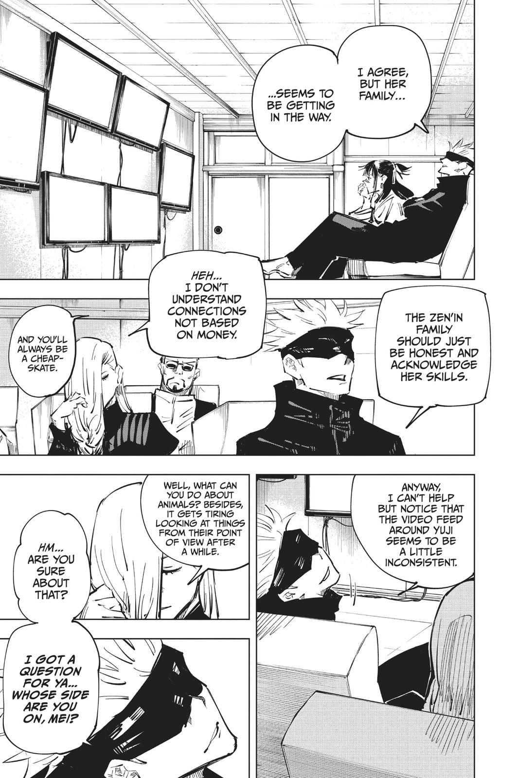 Jujutsu Kaisen, Chapter 40 image 011