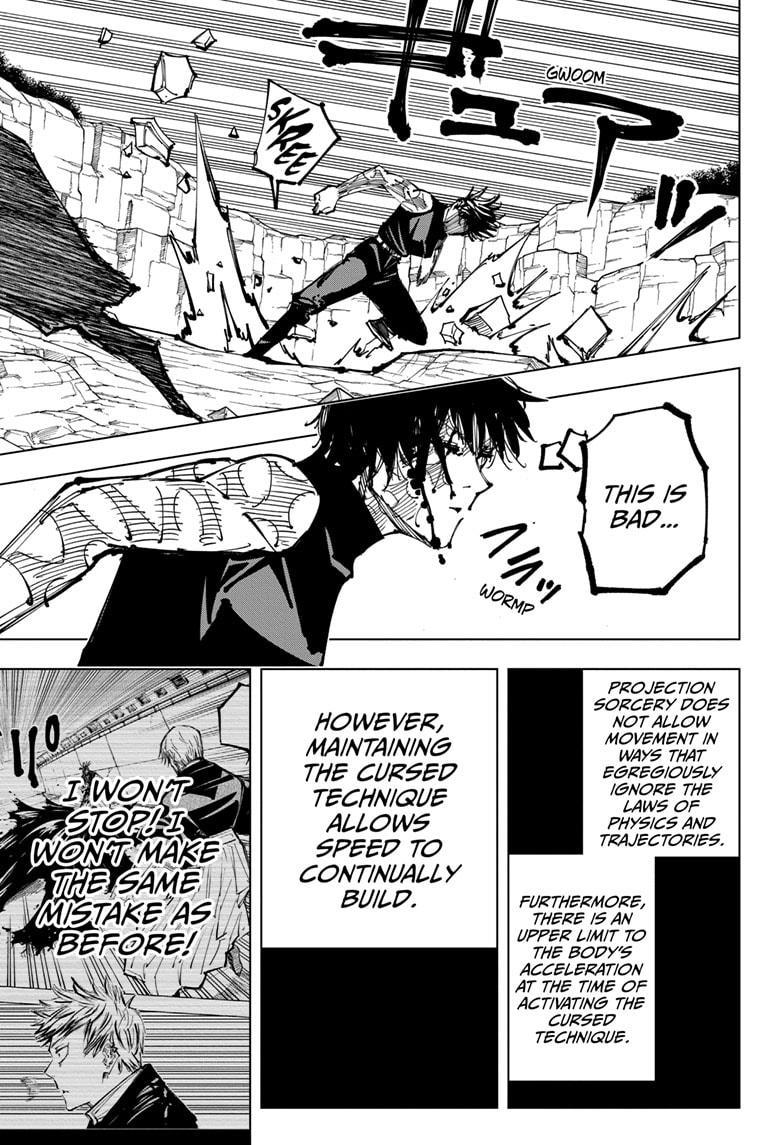 Jujutsu Kaisen, Chapter 151 image 011