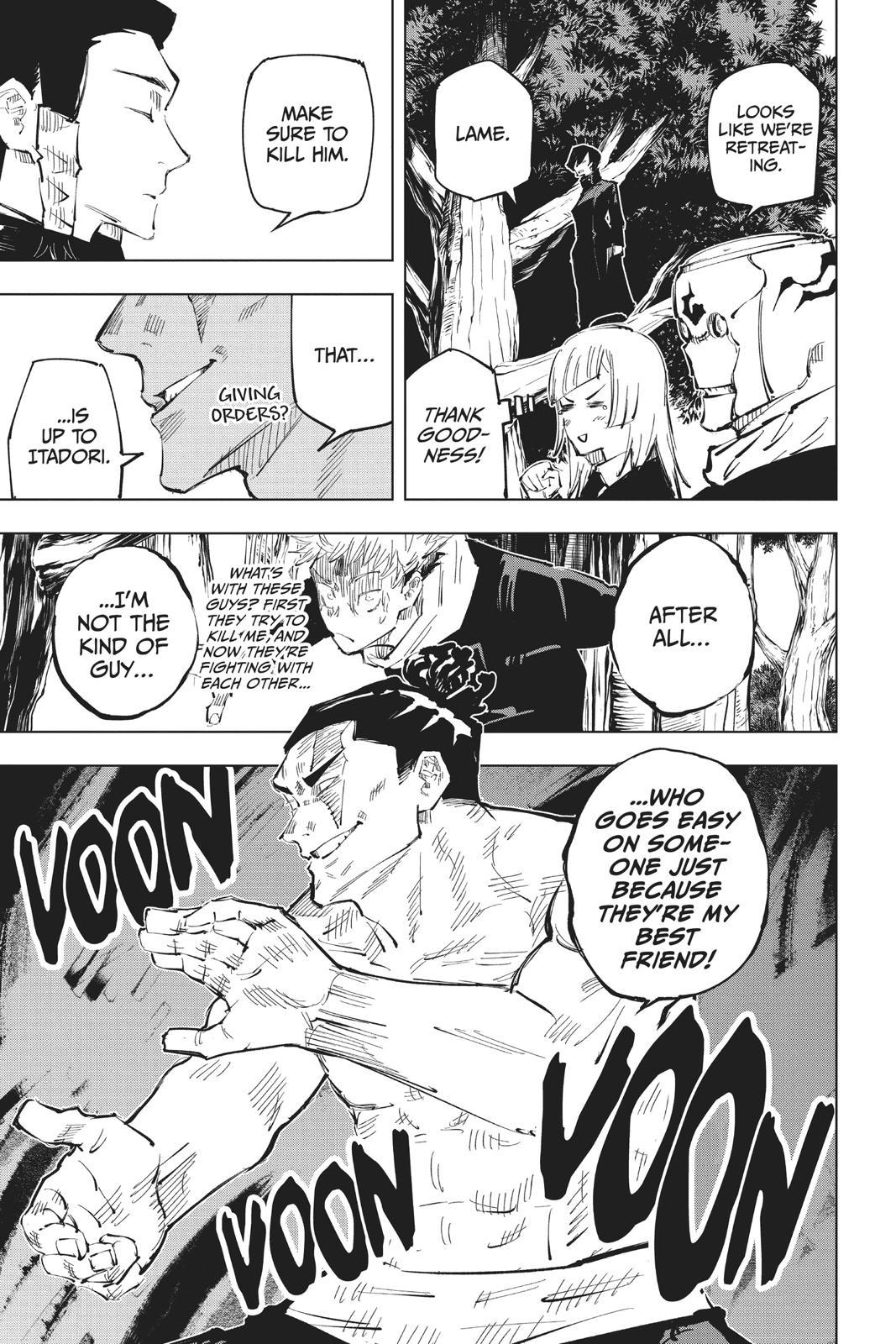 Jujutsu Kaisen, Chapter 35 image 020