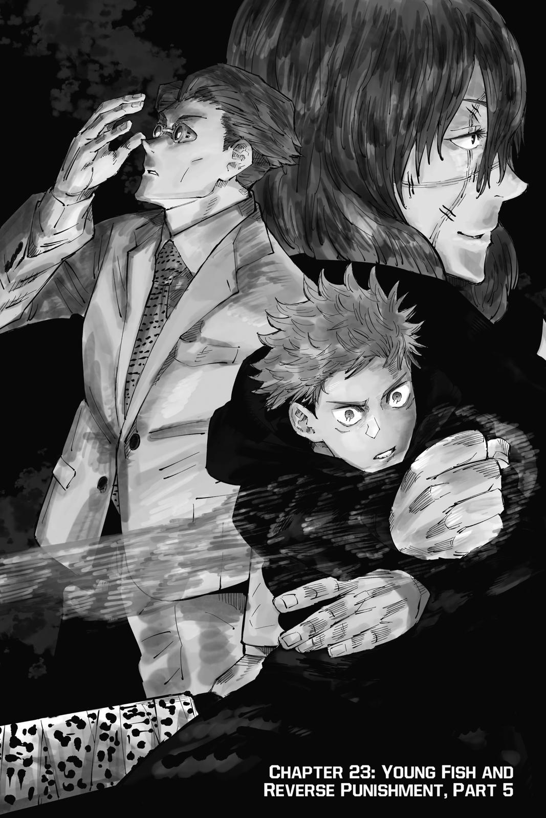 Jujutsu Kaisen, Chapter 23 image 001