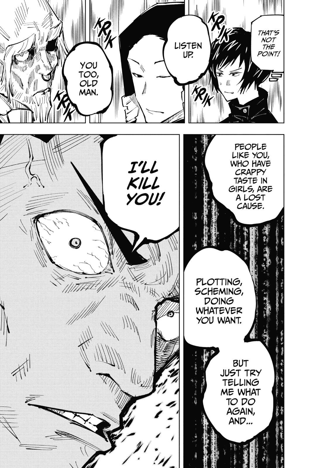 Jujutsu Kaisen, Chapter 33 image 010