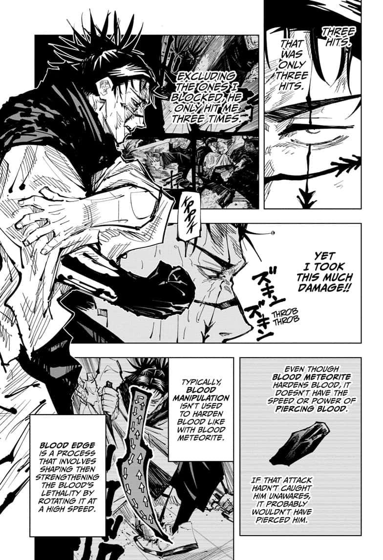 Jujutsu Kaisen, Chapter 105 image 005