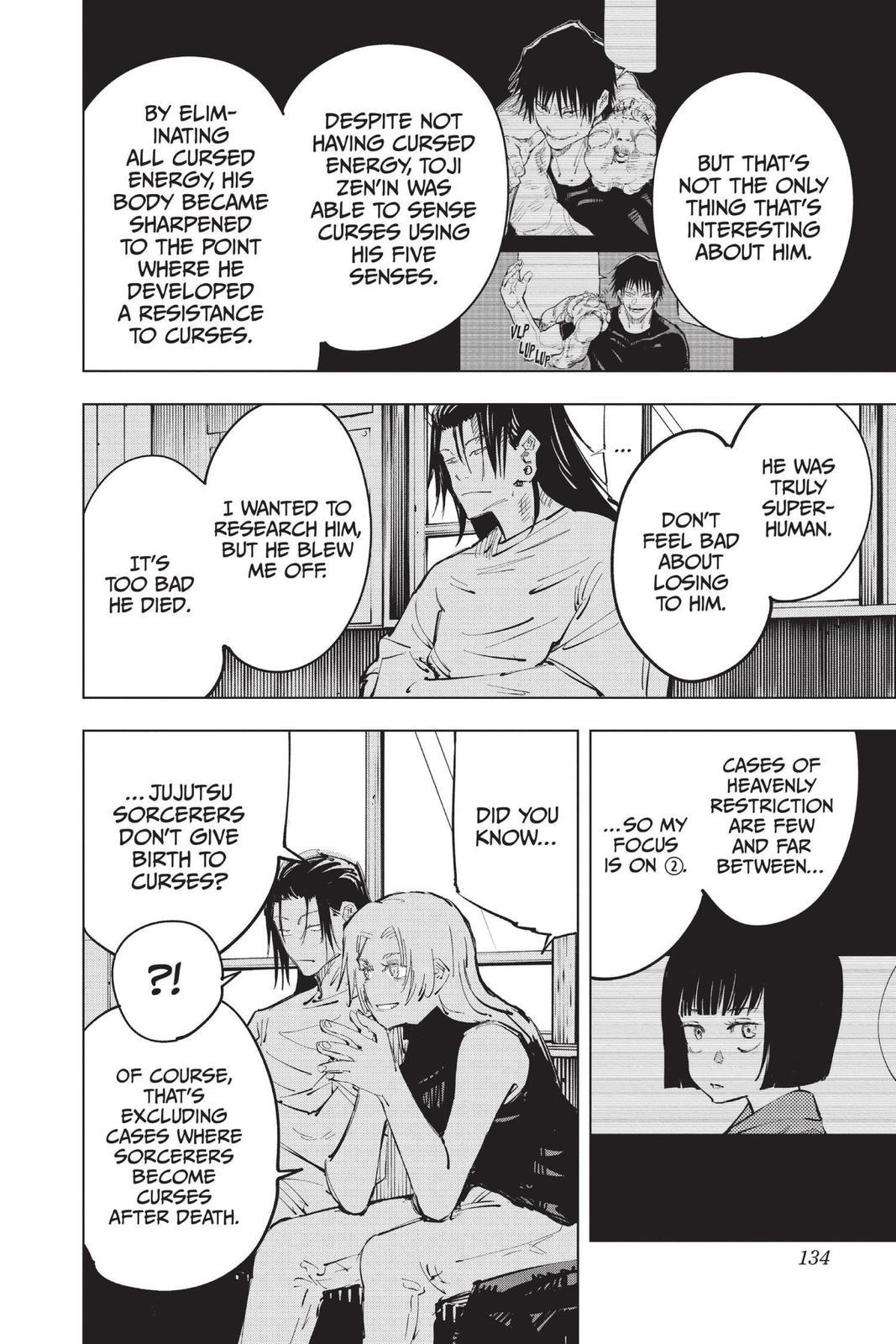 Jujutsu Kaisen, Chapter 77 image 008