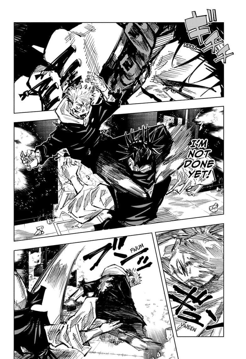 Jujutsu Kaisen, Chapter 105 image 012