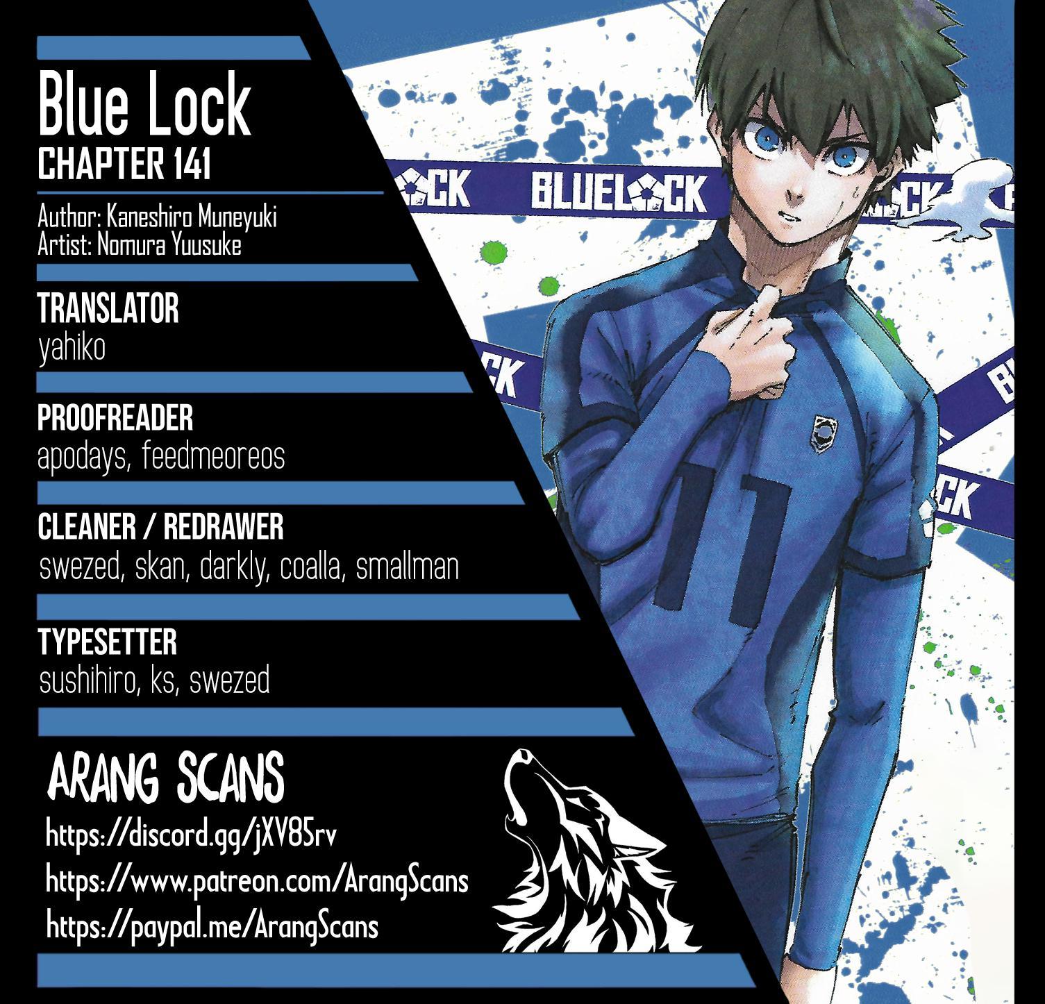 Blue Lock, Chapter 141 image 001