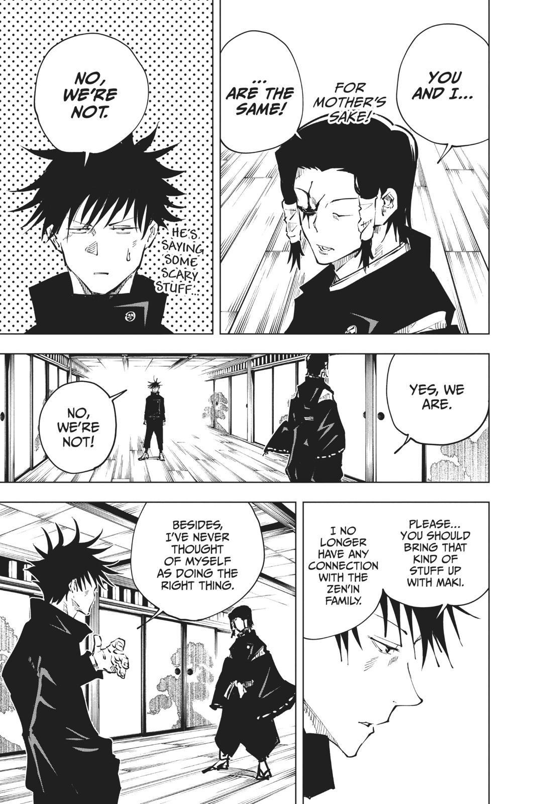 Jujutsu Kaisen, Chapter 44 image 011