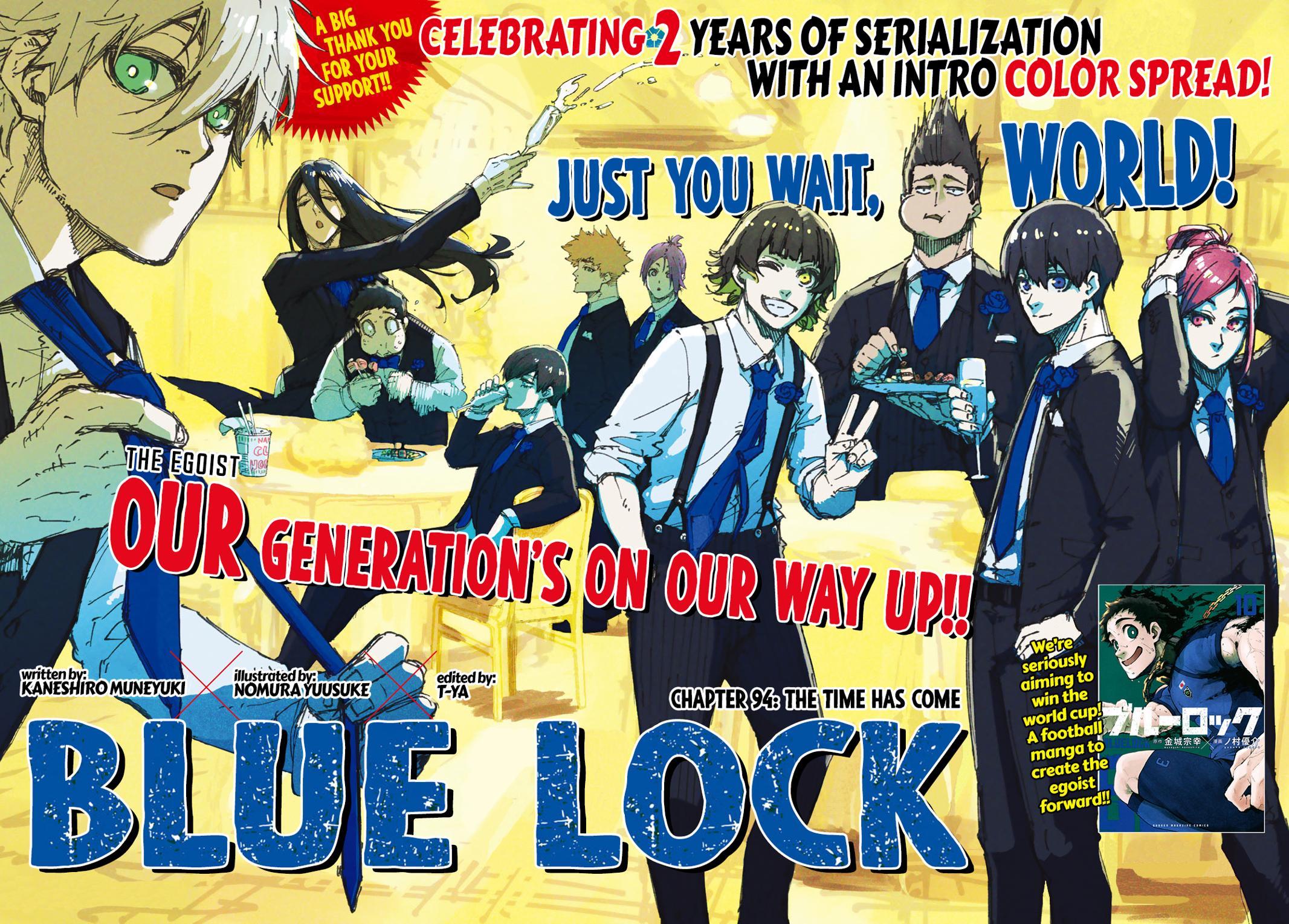 Blue Lock, Chapter 94 image 001