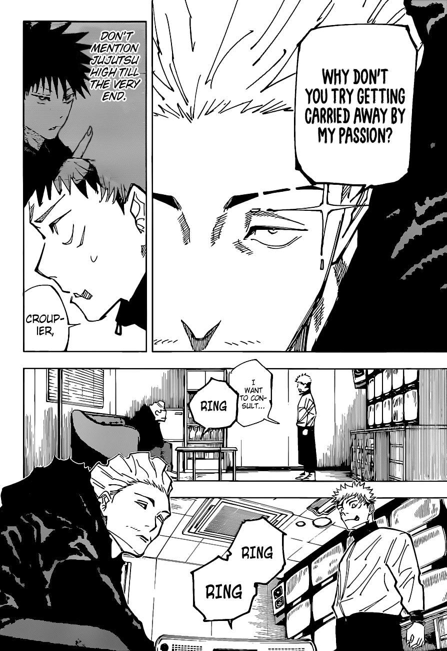 Jujutsu Kaisen, Chapter 155 image 07